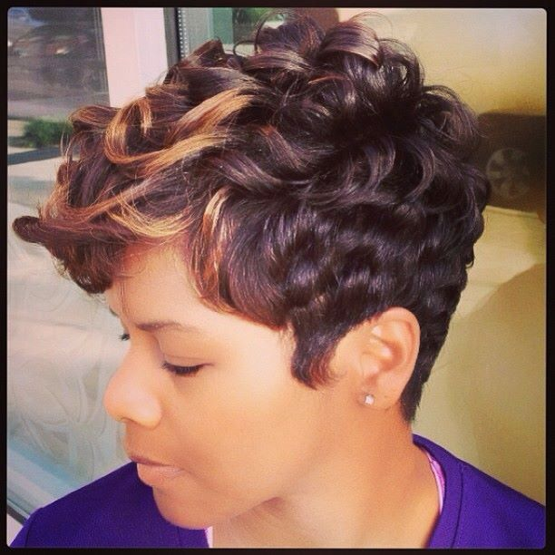 Admirable 1000 Images About Short Hair Styles For Black Women On Pinterest Hairstyle Inspiration Daily Dogsangcom