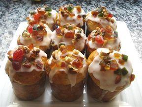 Mini pan dulces para regalar