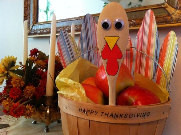 Thanksgiving Turkey Basket - an idea for the boys to take into school as a cultural experience about Thanksgiving