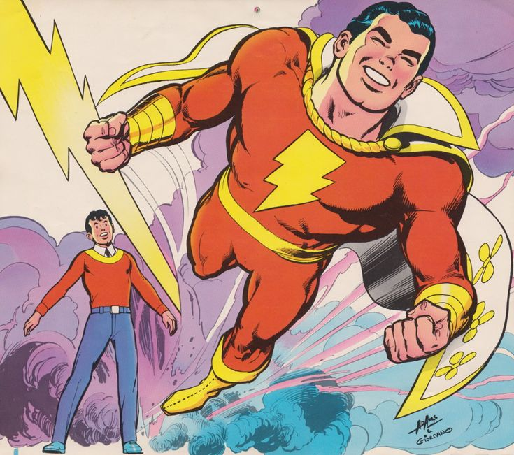 Shazam! - Comic Art Community GALLERY OF COMIC ART