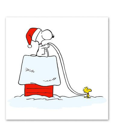 Snoopy and Woodstock Sleigh