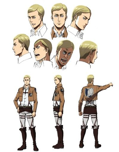 Erwin Smith character sheet | *Fantasy - Lads | Pinterest ...