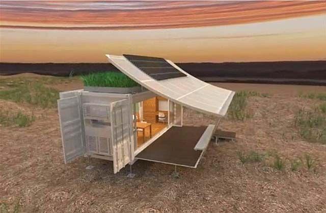 Dwell by G-pod, une maison extensible créée à l'intérieur d'un conteneur d'expédition