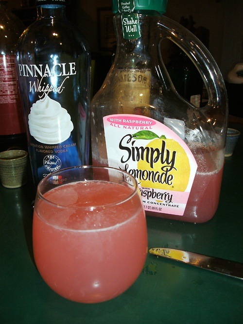 Pinnacle whipped & raspberry lemonade. {DELISH}