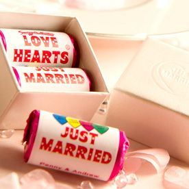 Love Heart Wedding Favours to make your wedding day special