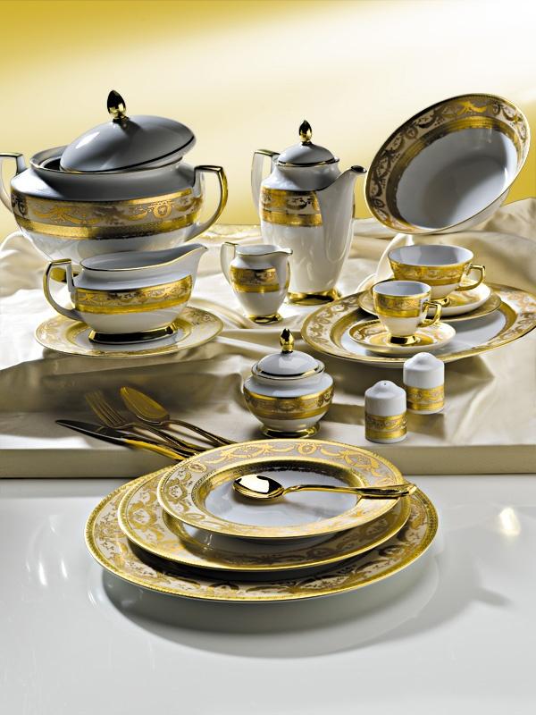 ZEPTER Masterpiece Collection Porcelain - Imperial Gold Crème