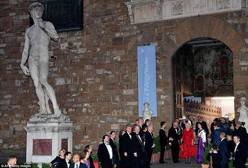Charles of England in Florence at Palazzo Vecchio