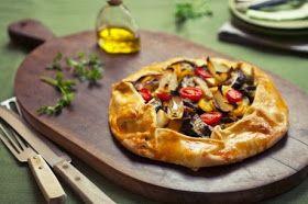 Cozinha da Janita - os sabores da vida!: Torta Rústica Ratatouille(do livro Pitadas da Rita)