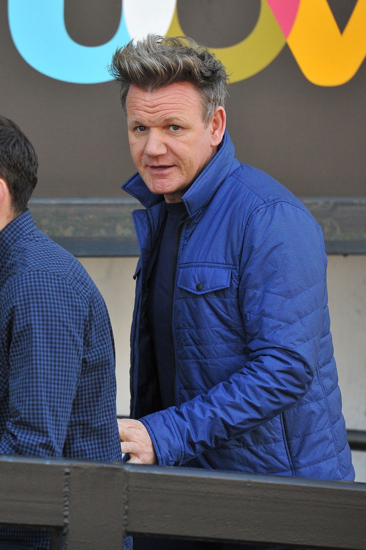 LONDON, ENGLAND - MARCH 21:  Gordon Ramsay seen at the ITV Studios  on March 21, 2017 in London, England.  (Photo by HGL/GC Images) via @AOL_Lifestyle Read more: https://www.aol.com/article/entertainment/2017/04/10/what-if-heres-what-princess-diana-michael-jackson-and-heath-l/22034151/?a_dgi=aolshare_pinterest#fullscreen