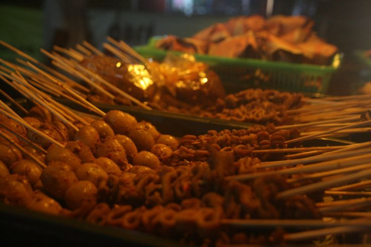 This is what we call Angkringan Jogja . The menu , simple yet mouth-watering . Yummy :D