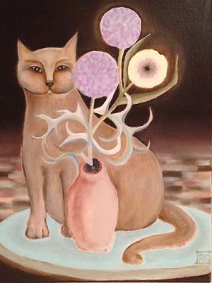 Cat and Thistle ~ Ranza Clark