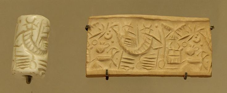 A Rare Mittanian Cylinder Seal Of Egyptian Blue Ca 1500: 26 Best Stamps / Печати Images On Pinterest