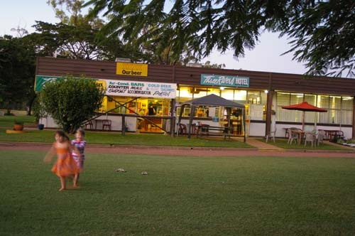 The Three Rivers Hotel in Greenvale, Qld, draws travellers, workers, Slim Dusty fans and anyone wanting to revisit the good old days.