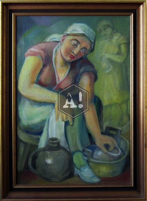 Helene Schjerfbeck - Self portrait