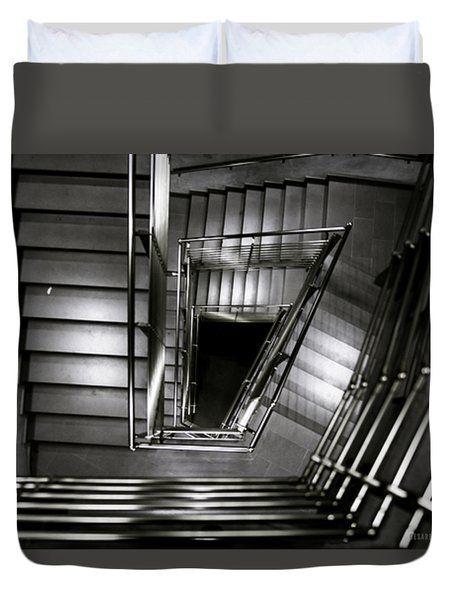 Don't Look Back Duvet Cover by Cesare Bargiggia
