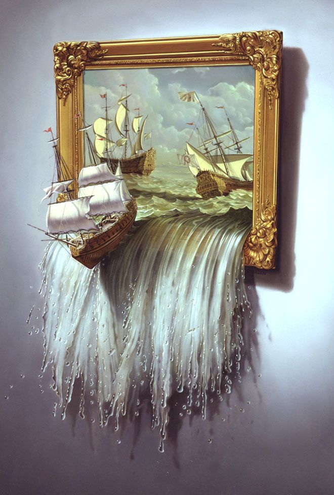 Surreal Paintings and Editorial Illustrations by Tim OBrien