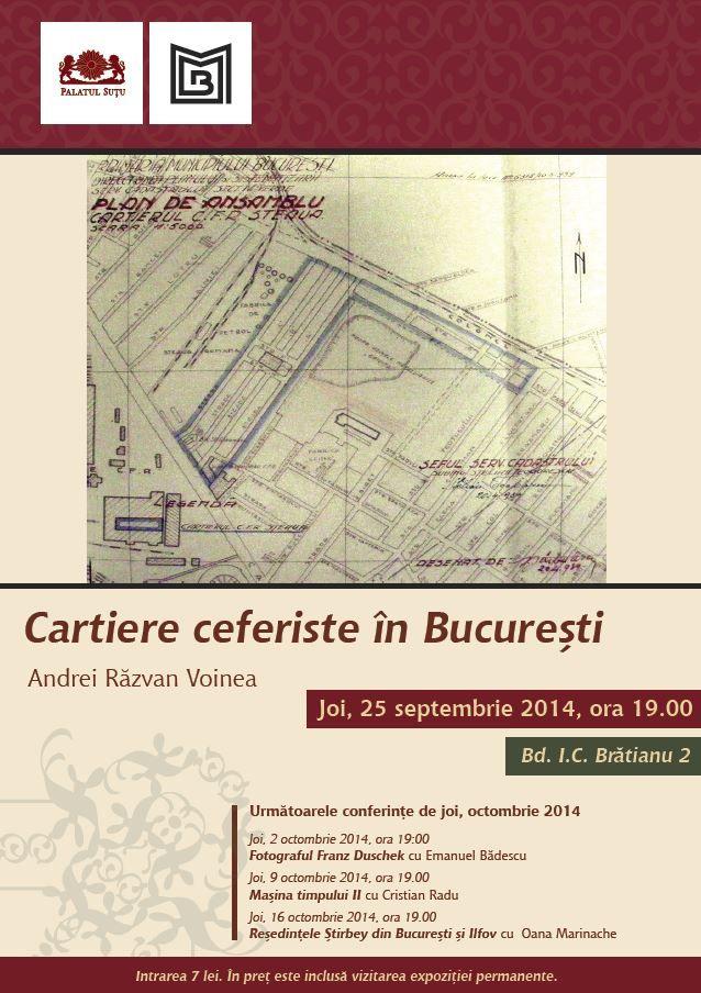 Cartiere ceferiste în Bucureşti