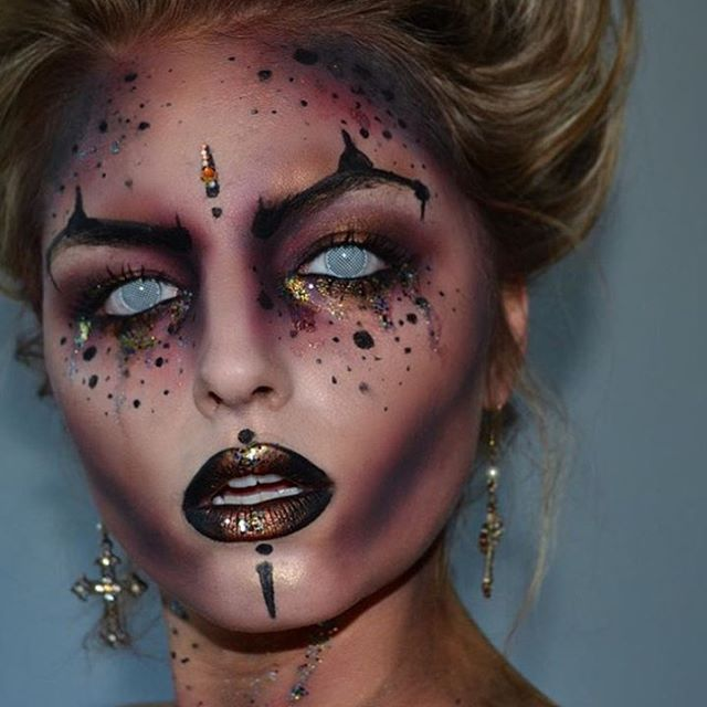 Best 25+ Scary makeup ideas on Pinterest | Horror makeup, Creepy ...
