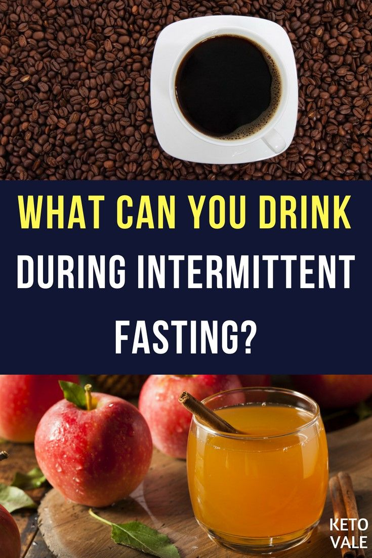 can you have diet soda intermittent fasting