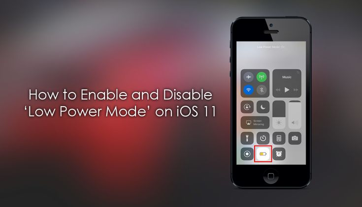 How to Enable and Disable Low Power Mode on iOS 11. ✅ https://goo.gl/Sghbpx #ios11 #ios #iphone #Apple @downloadsource.net
