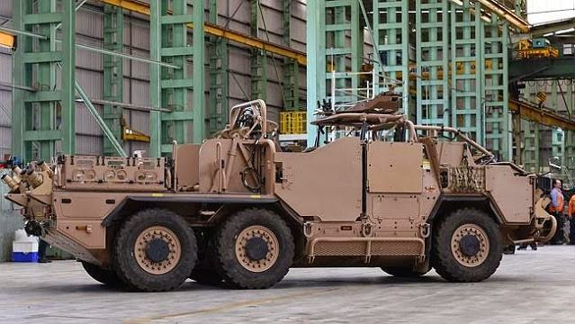Supacat Specialist Operations Vehicles Commandos Australia Australian army