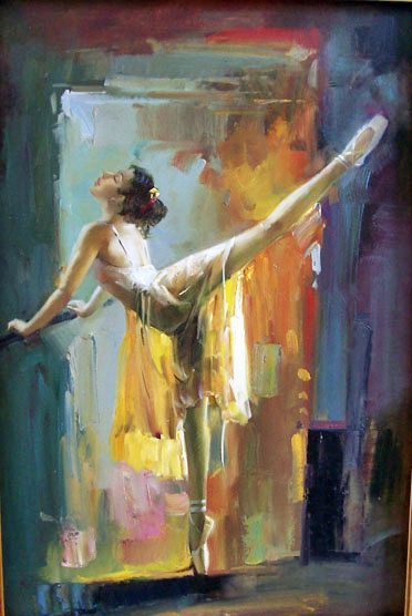 363 Best Images About Ballet Paintings On Pinterest