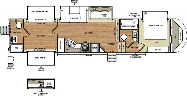 Open Road Fifth Wheel Floor Plans: 1000+ Ideas About Rv Remodeling On Pinterest
