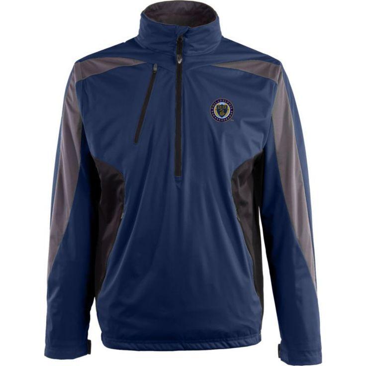 Antigua Men's Philadelphia Union Navy Discover Full-Zip Jacket, Size: XL, Team