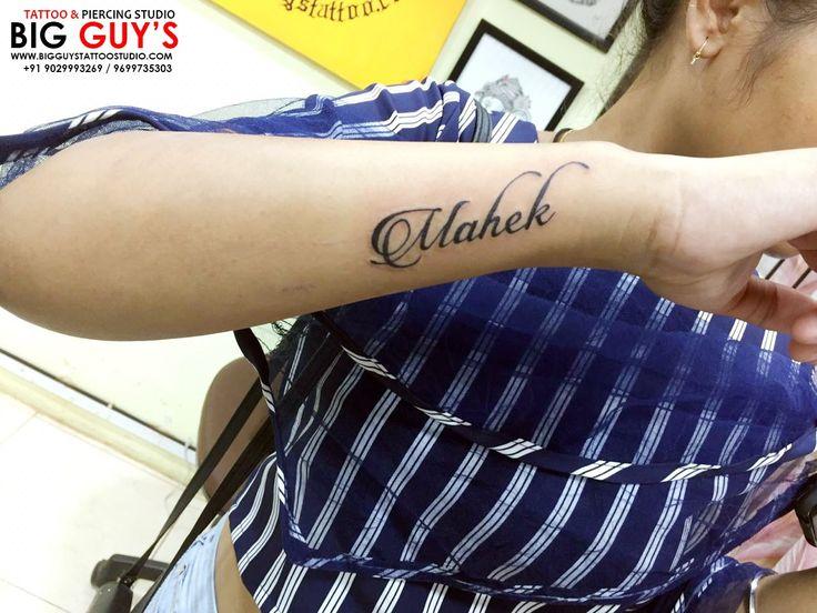 Mahek Tattoo Done By Big Guys Tattoo Studio Name Tattoos On Wrist Tattoos Heartbeat Tattoo On Wrist