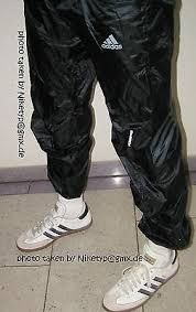 Image result for shiny trackies