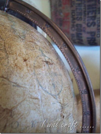 $3 Thursday – Old World Style Globe