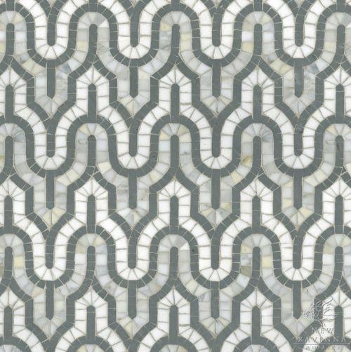 Love this tile from Ravenna mosaics via @Cristin {Simplified Bee}Design Helpful, Calacatta Tia, Silk Roads, Nature Stones, Sara Baldwin, Ravenna Mosaics, Mosaics Tile, Hands Cut, Roads Collection