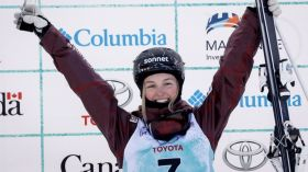 Team Canada earned three moguls medals at the freestyle skiing World Cup on home snow in Mont-Tremblant, Quebec on Saturday....