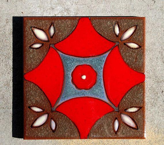 6 x 6 Hand glasierte Talavera Stil keramische von CarlyQuinnDesigns