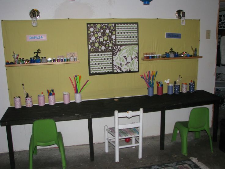 15 best kids art station images on pinterest play rooms child aprons and apples diy kids art station solutioingenieria Choice Image