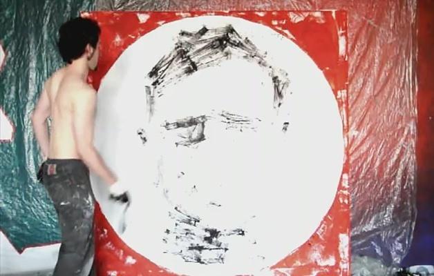 Lenard şi portretele cu mingea