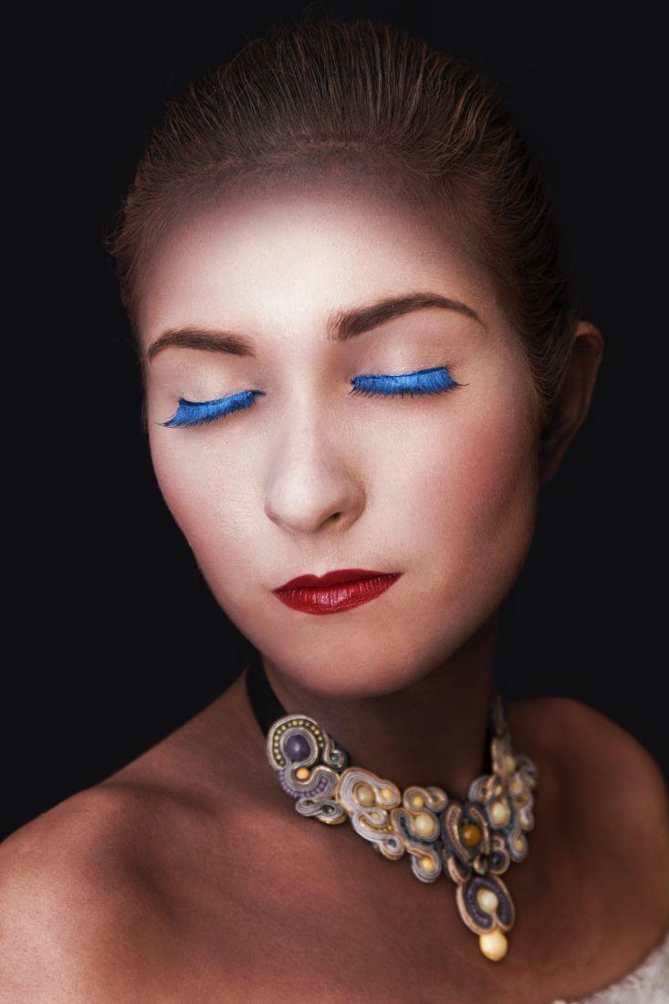 Makijaż kreatywny z Fashion Makeup Awards 2014 make up: Agnieszka Celińska (potegapiekna.pl) fot. Katarzyna Jarzębska model: Marta  #makijaż #kreatywny, #creative #makeup
