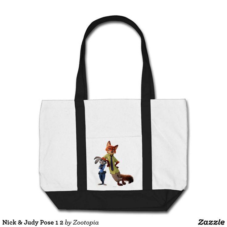 Nick & Judy Pose 1 2. Producto disponible en tienda Zazzle. Accesorios, moda. Product available in Zazzle store. Fashion Accessories. Regalos, Gifts. #bolso #bag
