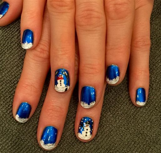 Christmas Nail Art Designs Gallery: 658 Best Christmas Nail Art Images On Pinterest