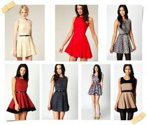 Vestidos acinturados- dress/work / pretty