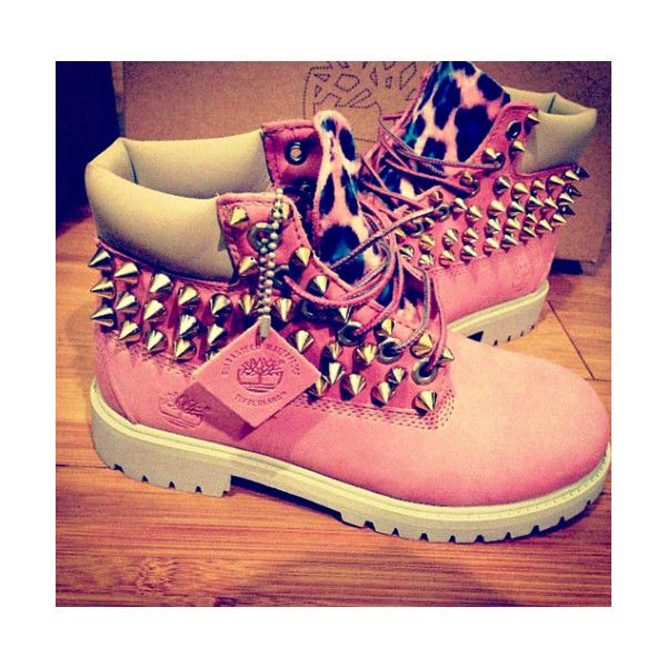 Timberland Boots For Girls Cheetah Print ❤ liked on Polyvore featuring shoes, boots, timberlands and instagram