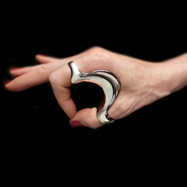 """what us jewellery tradies know as a """"handheld wearable object.... very nice.....by BETONY VERNON"""