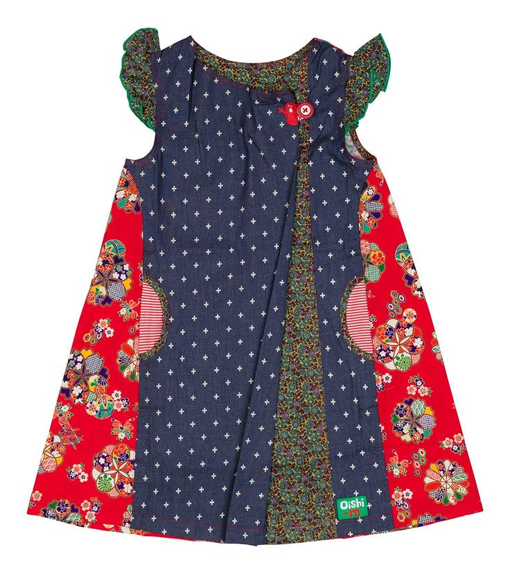 Cherry Dress - Big, Oishi-m Clothing for kids, Autumn 2016, www.oishi-m.com