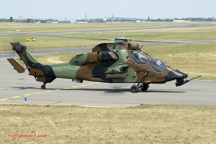 https://flic.kr/p/W5zbfQ | Eurocopter EC.665 Tiger 6001/BJA ALAT 21-06-17 | Paris Le Bourget