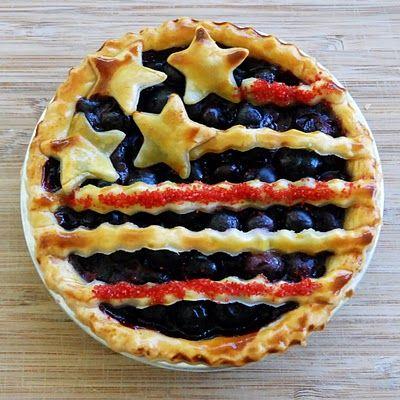 Patriotic Pie!: Desserts, Tiny Patriots, Pies Recipe, Patriots Pies, Food,  Pizza Pies, 4Th Of July, American Pies, July Pies