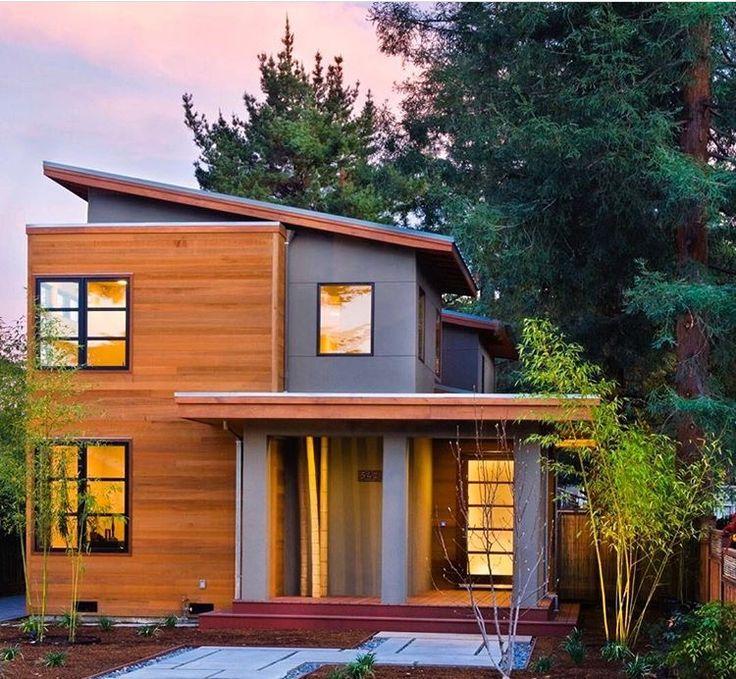 Modern Exterior Home Siding: 29 Best Cedar Siding Images On Pinterest