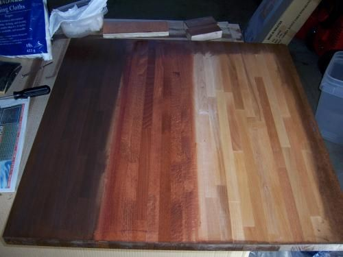 ikea butcher block table stain diy ideas pinterest