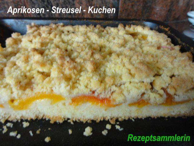 Das perfekte Rührteig:   APRIKOSEN- STREUSEL-KUCHEN-Rezept mit einfacher Schritt-für-Schritt-Anleitung: Aprikosen waschen und auf Küchenpapier trocknen…