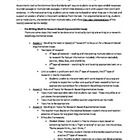 Guidelines for writing an argumentative essay