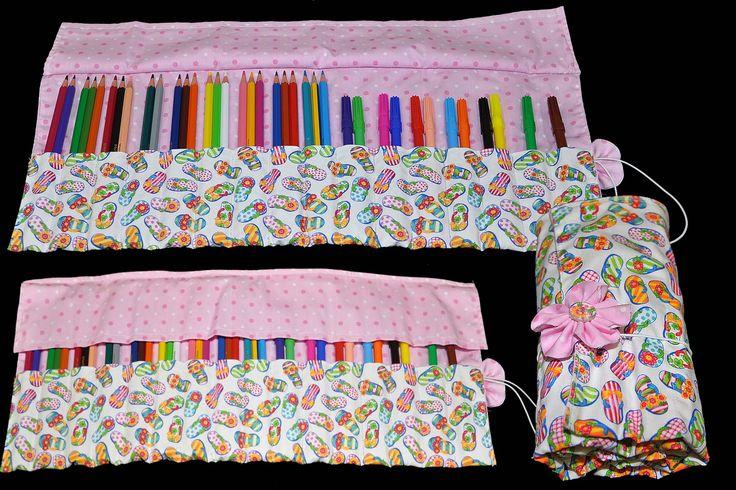 porta lapis de cor de tecido - Pesquisa Google